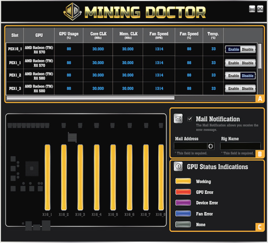 Biostar's iMiner A578X8D Crypto Mining Machine Now Available