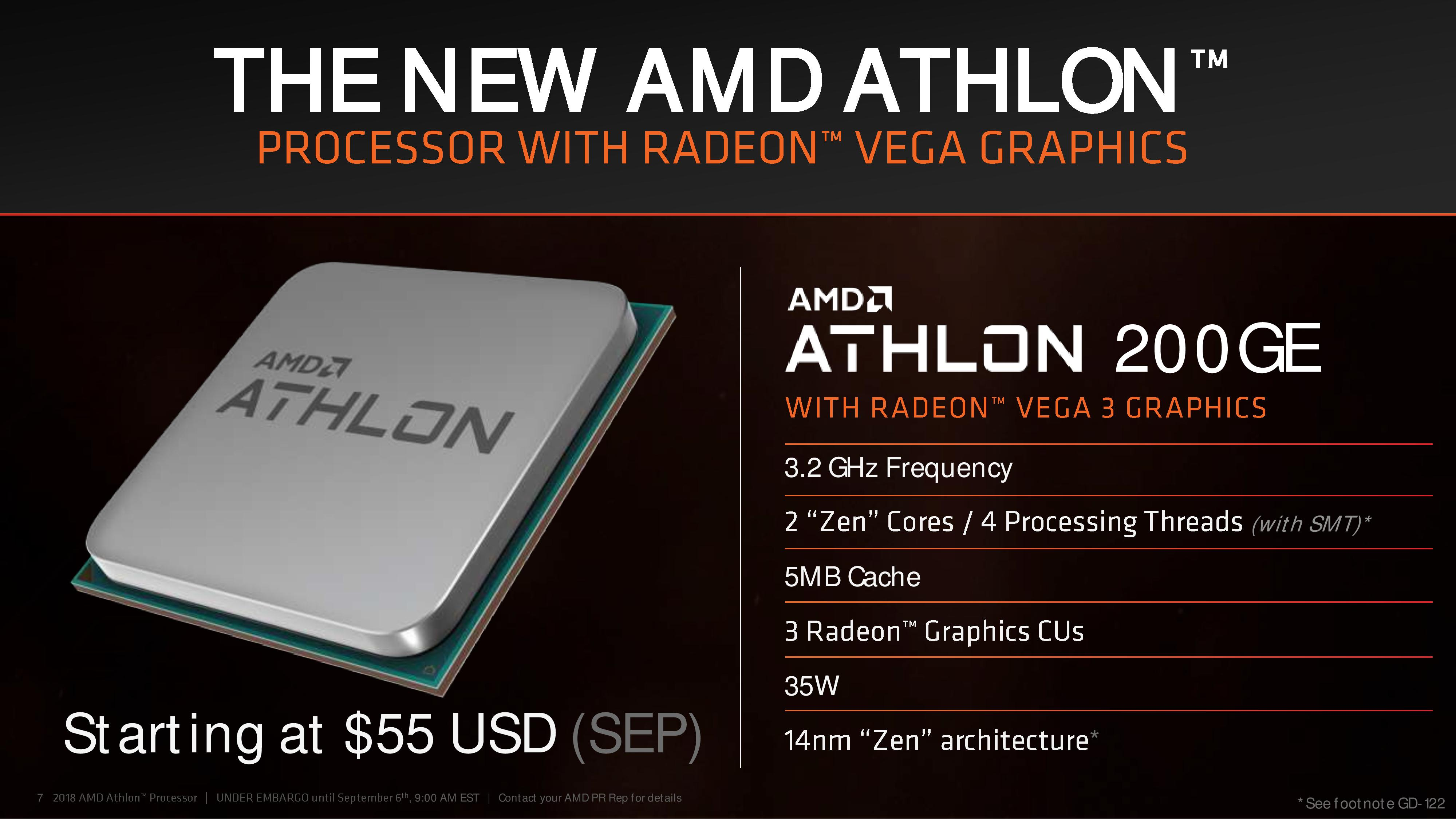 Amds Athlon 200ge Processors Now Available Amd Ryzen 3 Raven Ridge 2200g 35ghz Up To 37ghz Cache 4mb 65w Am4 Notably Even With The Low Price Isnt Holding Back On Feature Support Here Since Cpu Is Drop In Compatible 300 And 400 Series