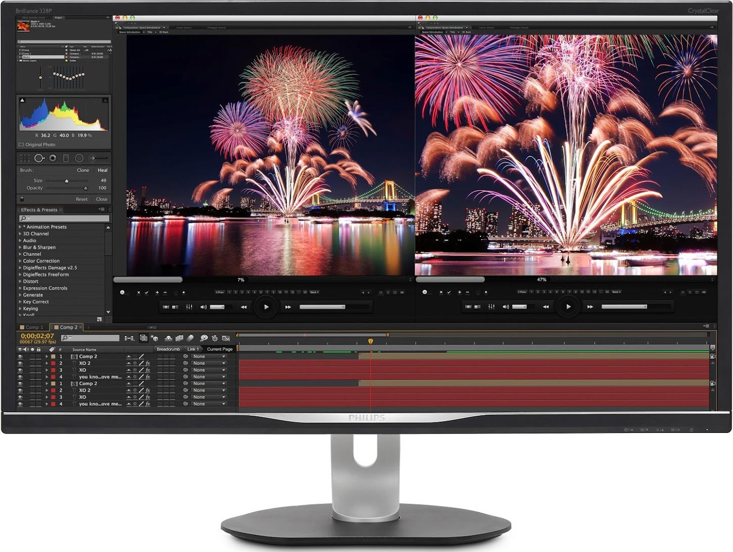 Philips 328P6VU Professional 4K Display: DisplayHDR 600, USB