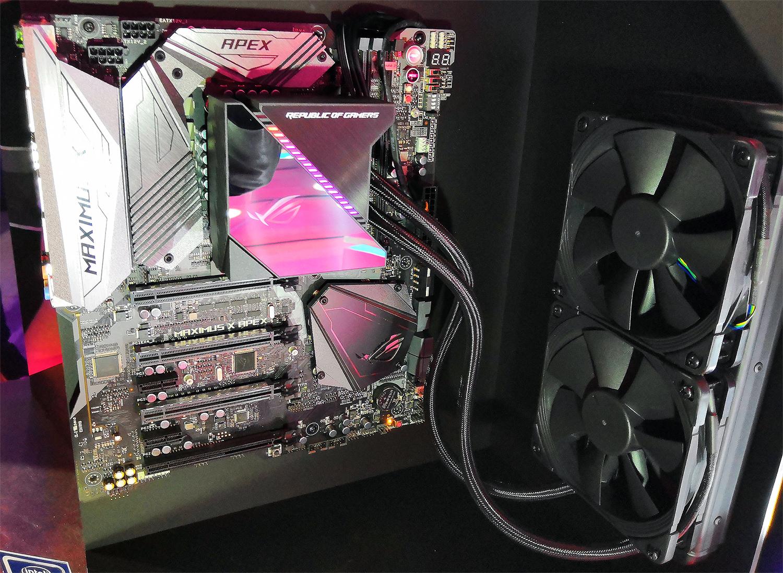 ASUS Unveils ROG Ryujin AIO LCSes for AMD's Ryzen & Ryzen