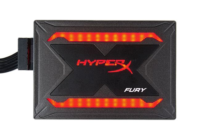 The Kingston HyperX Fury RGB SSD Review: Bright Idea