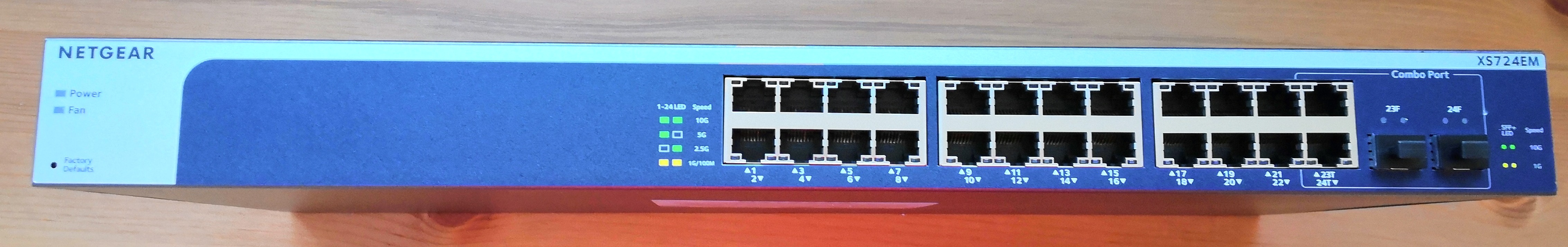 In The Lab: The Netgear XS724EM, a 24-port 2 5G/5G/10GBase-T Switch