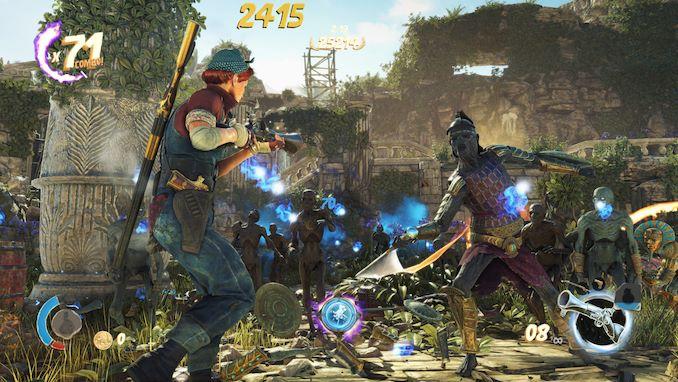 Gaming: Strange Brigade (DX12, Vulkan) - The Intel 9th Gen