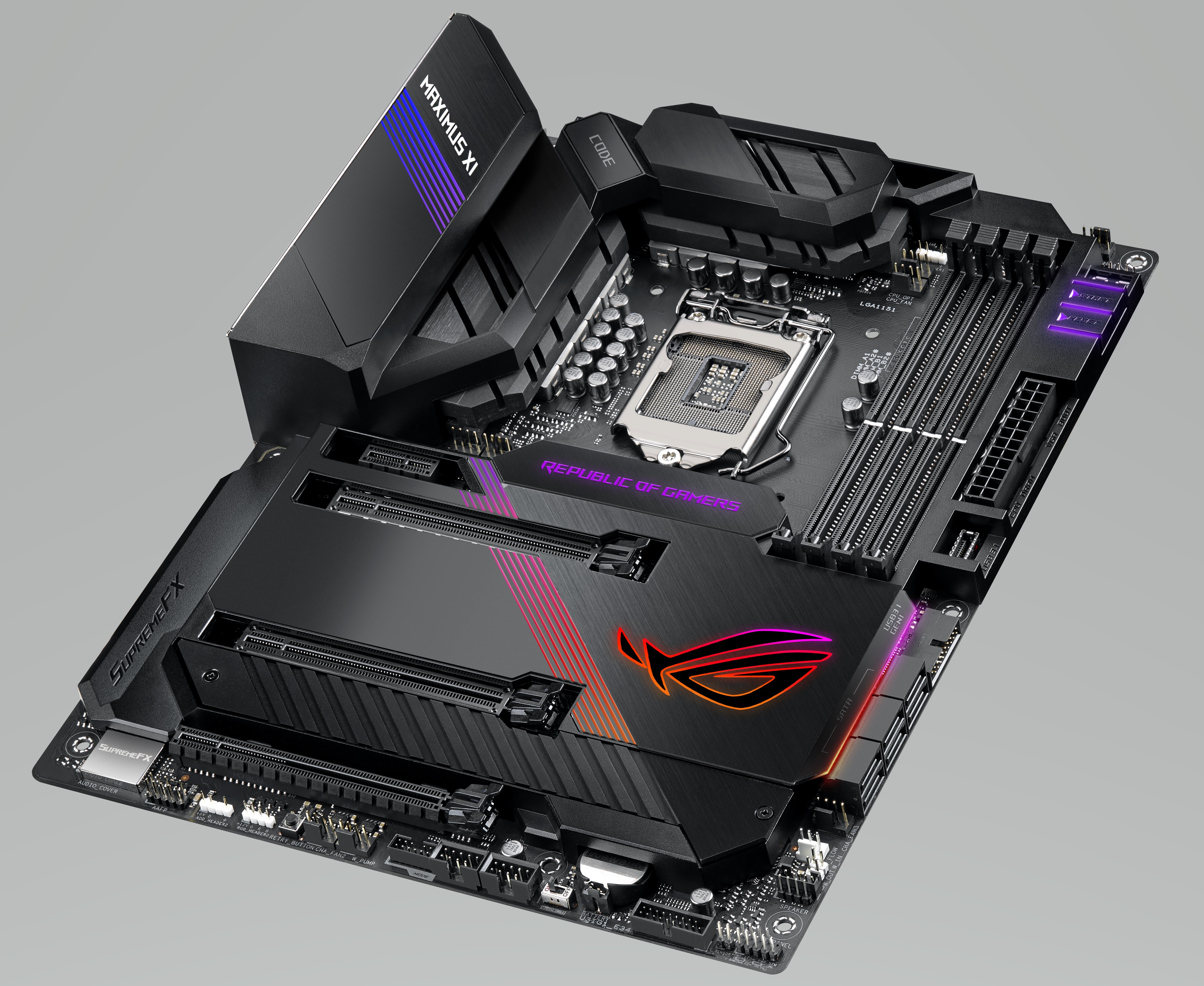 ASUS ROG Maximus XI Code - Intel Z390 Motherboard Overview