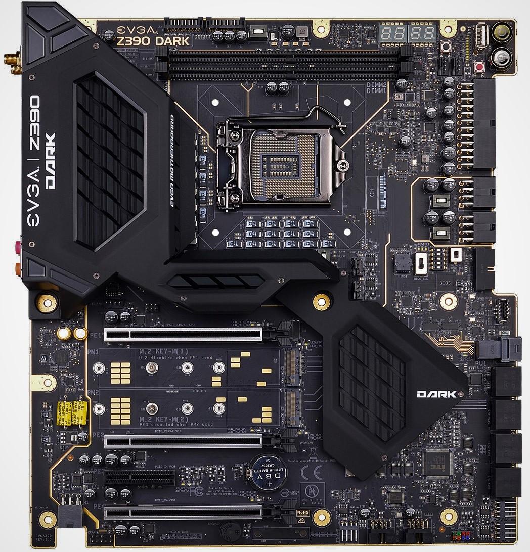 EVGA Z390 Dark - Intel Z390 Motherboard Overview: 50+