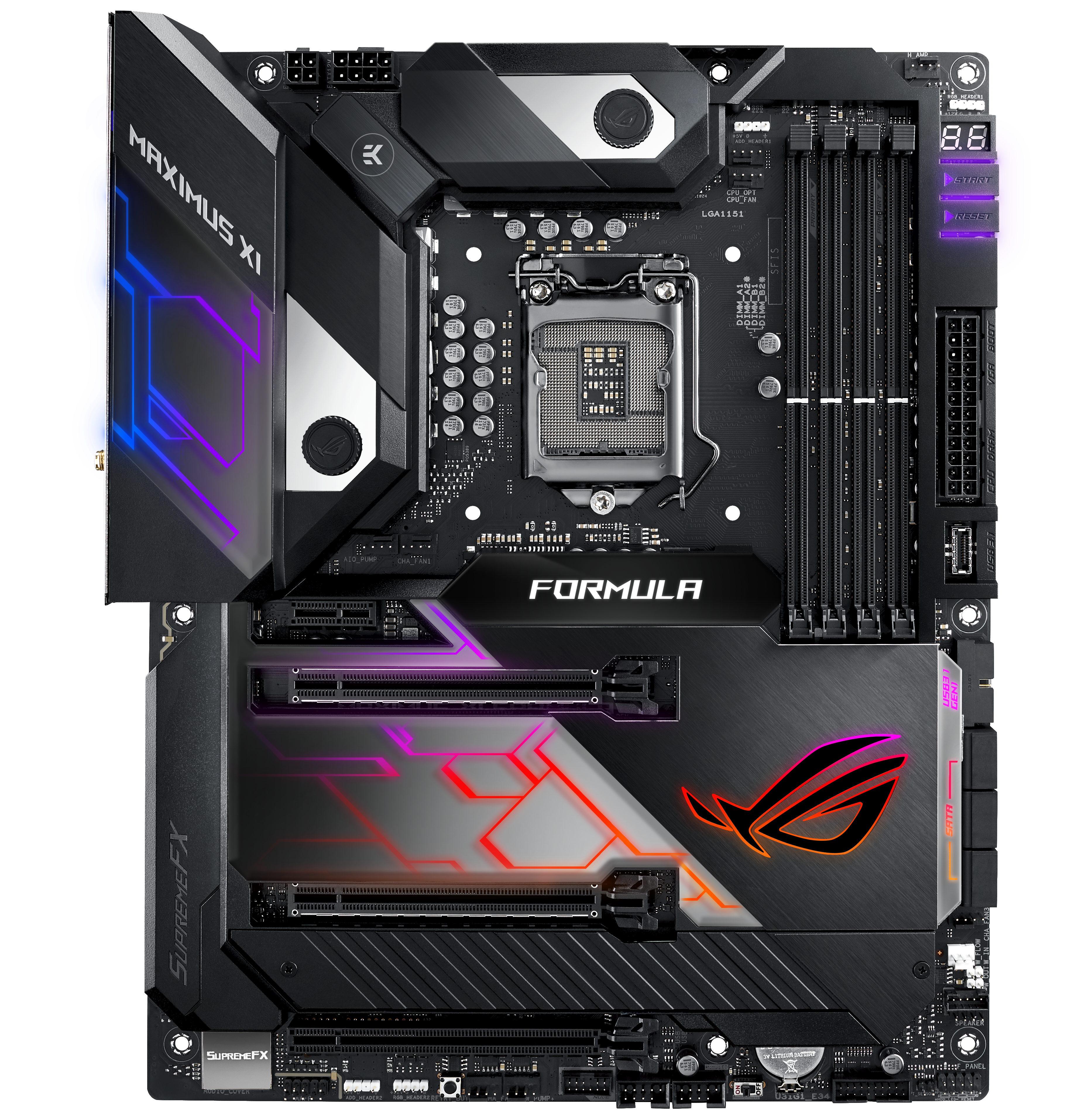 ASUS ROG Maximus XI Formula - Intel Z390 Motherboard Overview: 50+