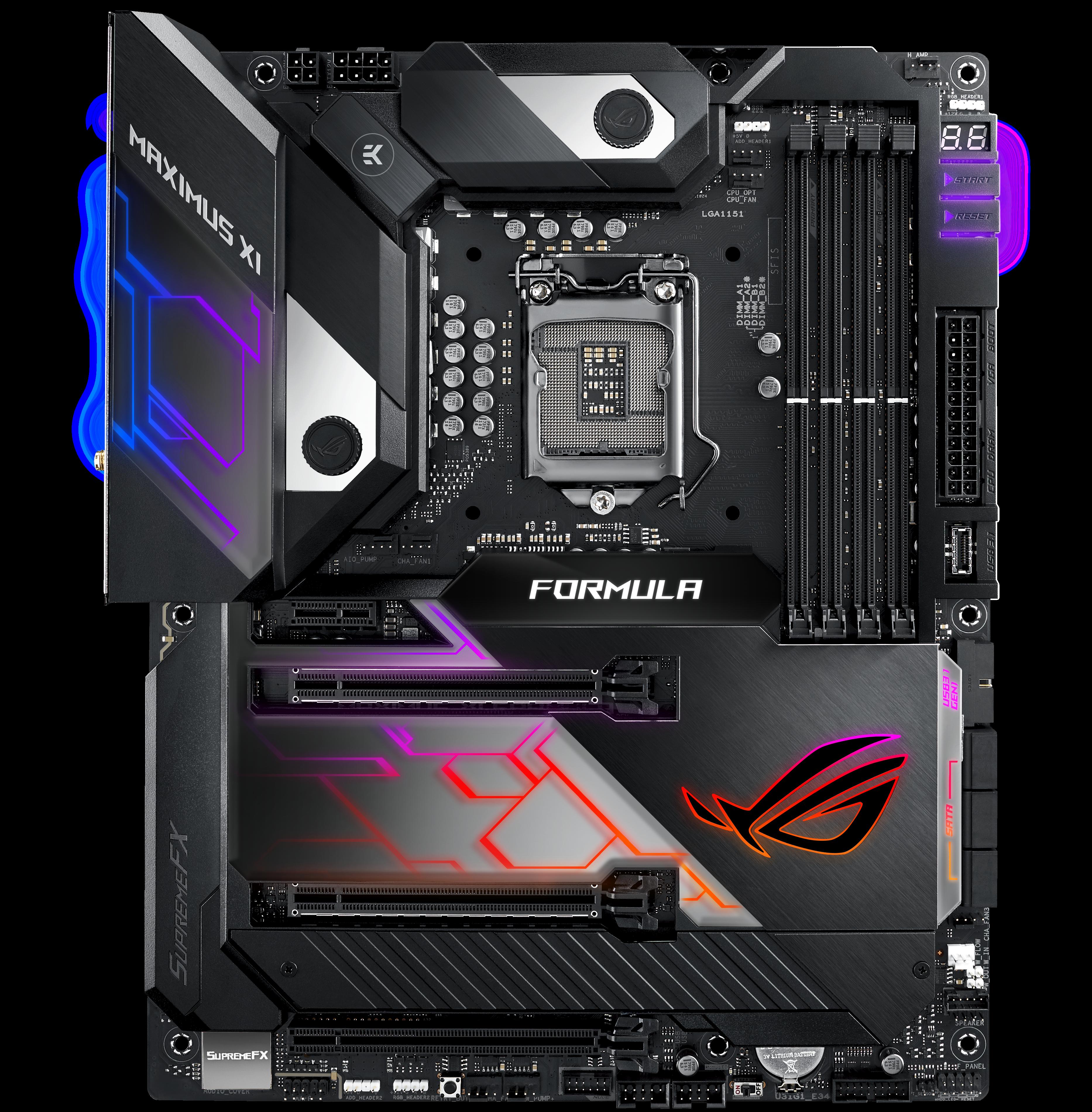 ASUS ROG Maximus XI Formula - Intel Z390 Motherboard Overview: 50+