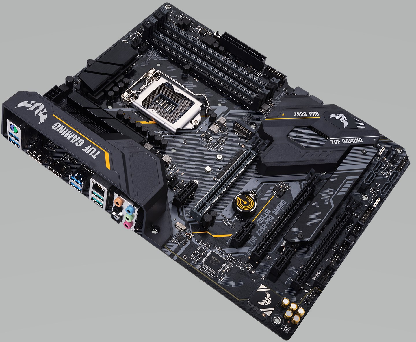 ASUS TUF Z390 Pro Gaming - Intel Z390 Motherboard Overview: 50+