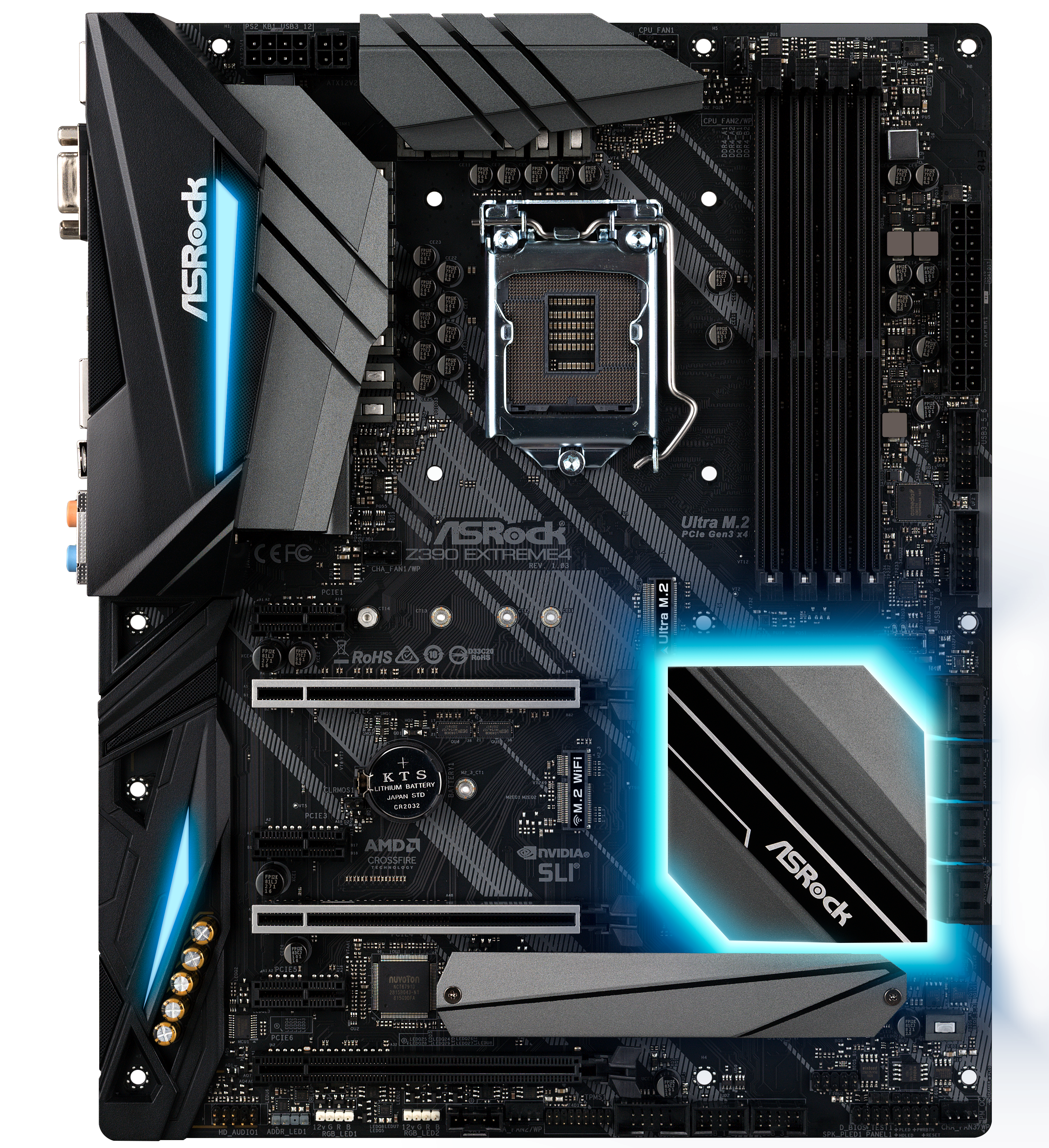 ASRock Z390 Extreme4 - Intel Z390 Motherboard Overview: 50+