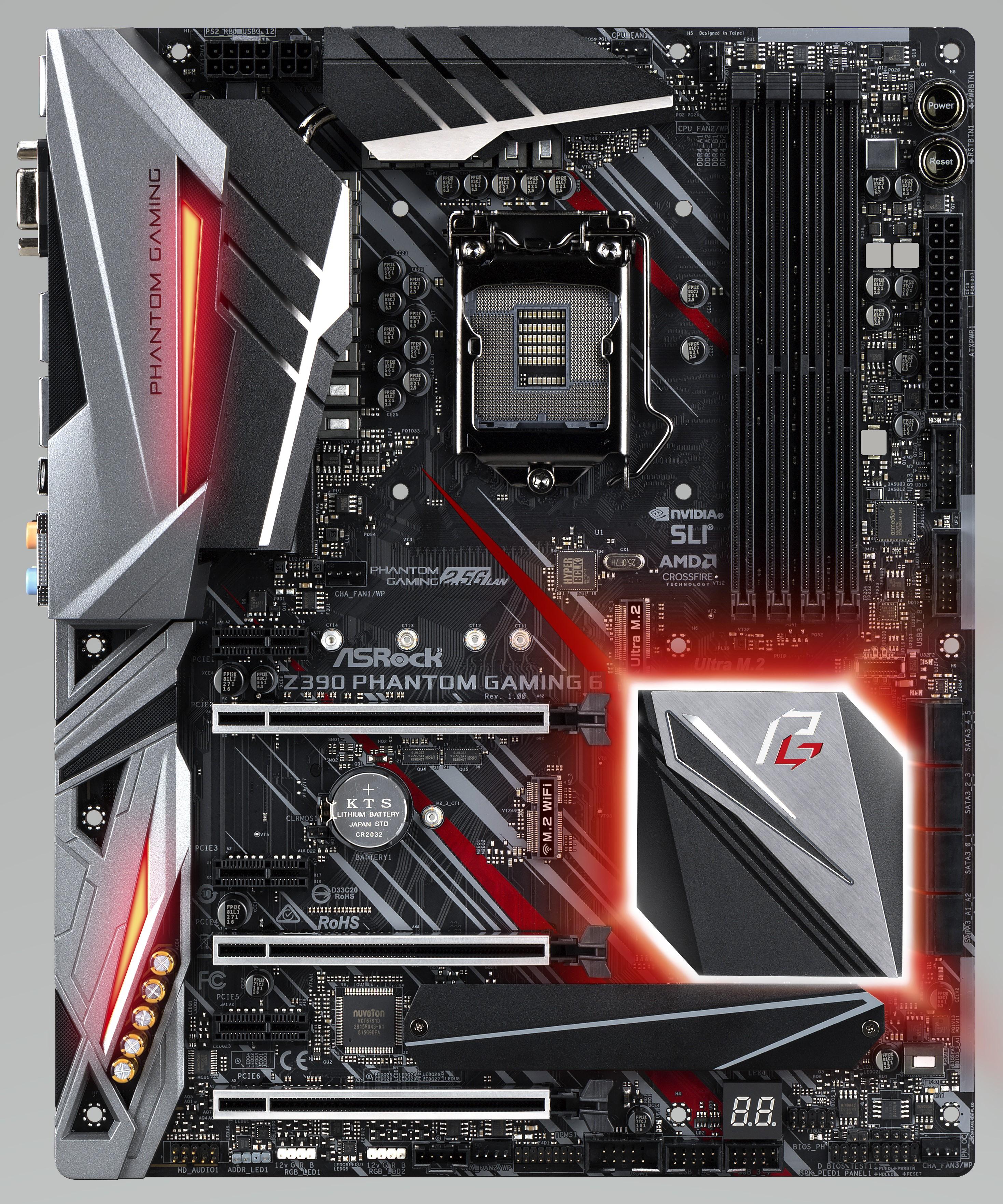 ASRock Z390 Phantom Gaming 6 - Intel Z390 Motherboard