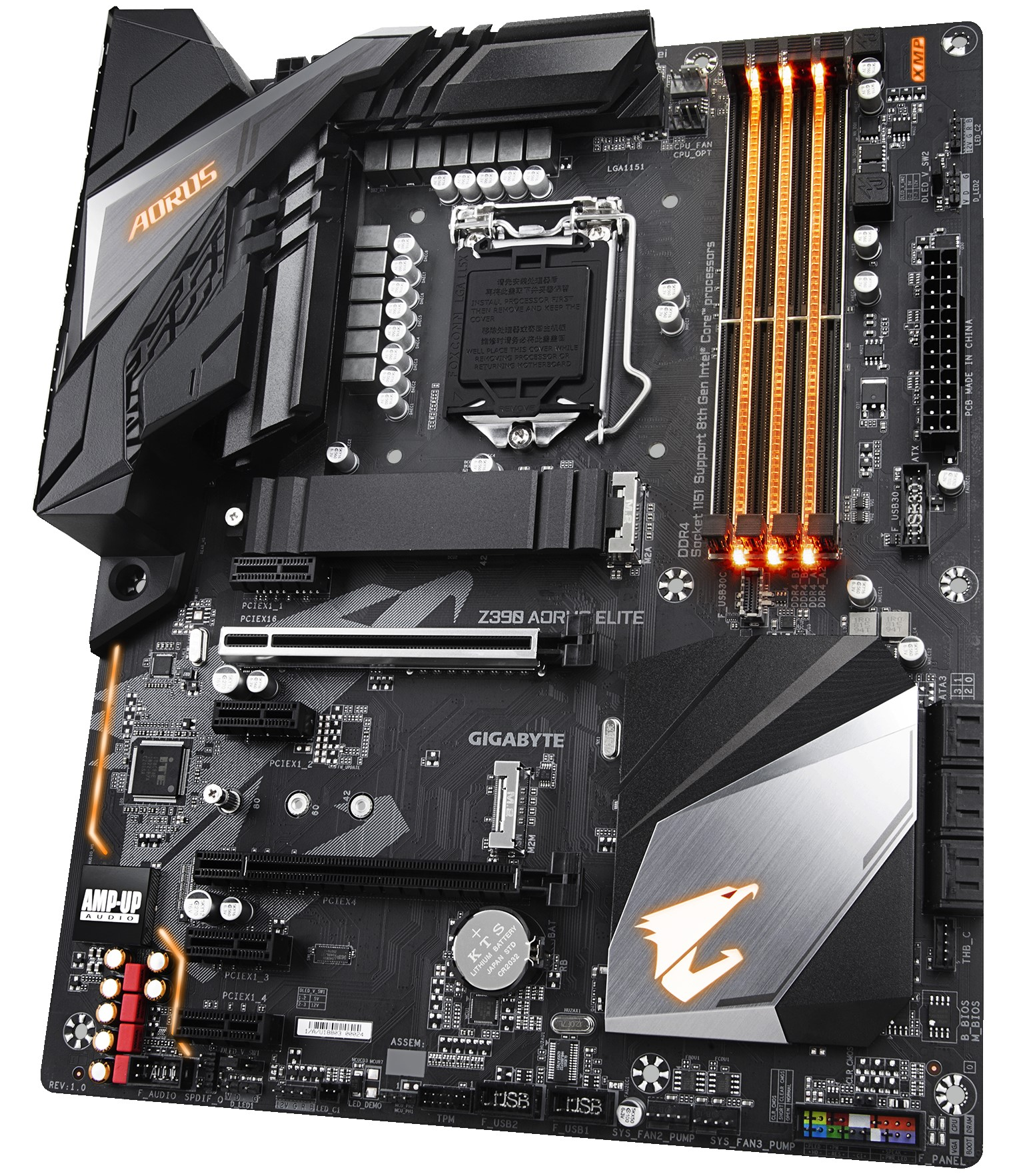 GIGABYTE Z390 Aorus Elite - Intel Z390 Motherboard Overview: 50+