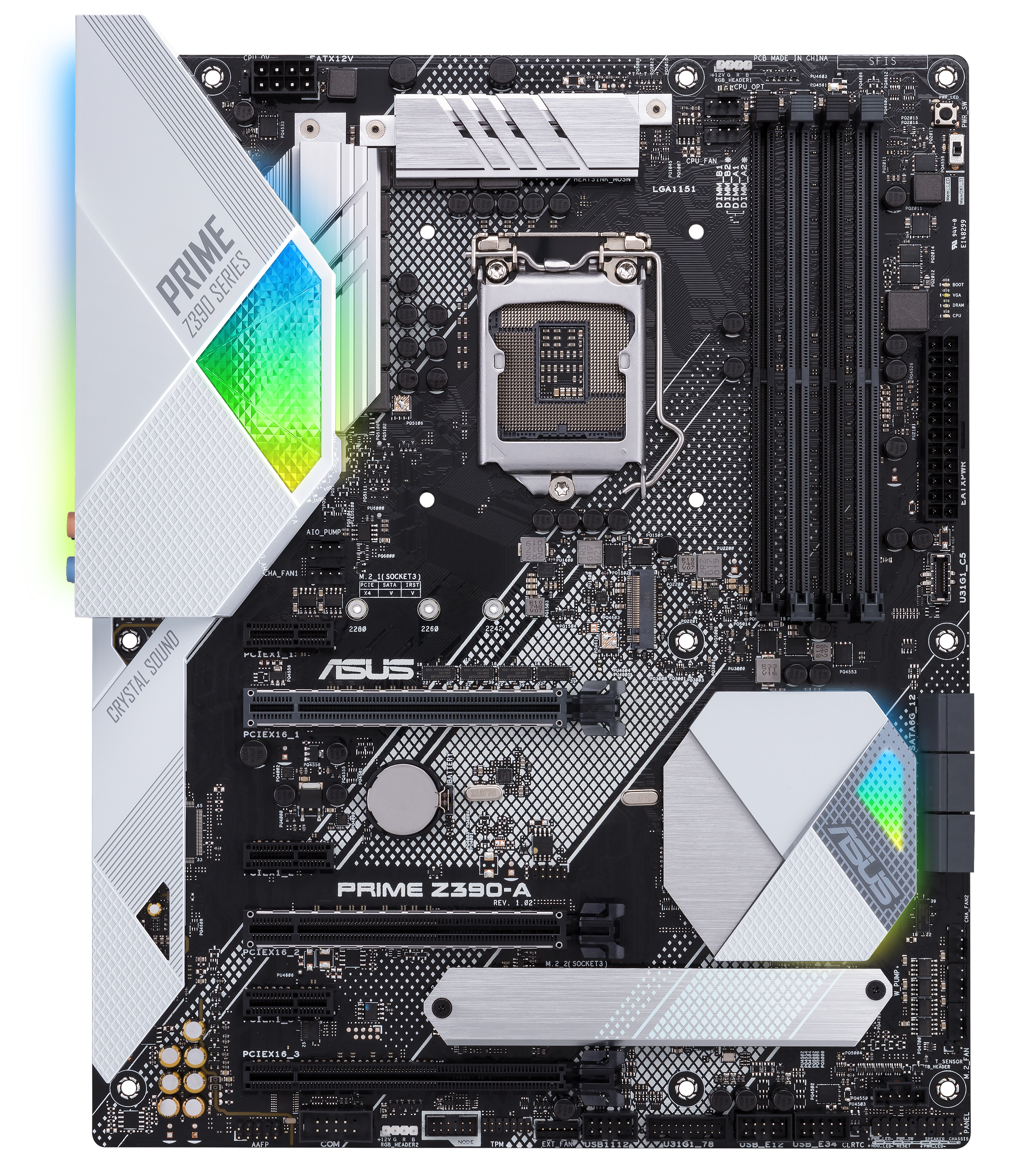 ASUS Prime Z390-A - Intel Z390 Motherboard Overview: 50+