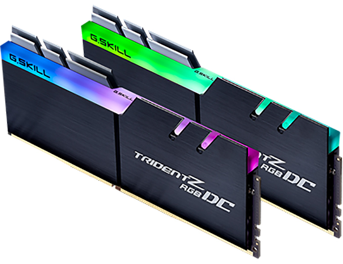 G Skill Unveils 32 GB Trident Z RGB DC DDR4: Double Height