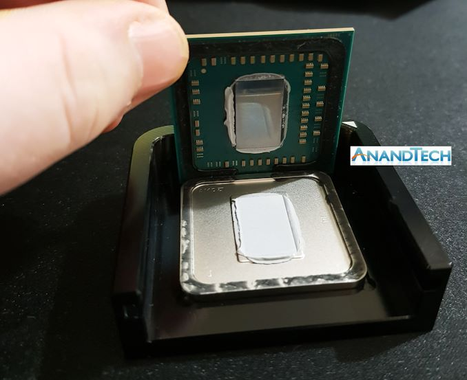 AMD%20Ryzen%202400G%20Delidding%20Guide%20Step%208 575px - Intel's Push to Enthusiasts: Soldered CPUs and 6.9 GHz Overclocks