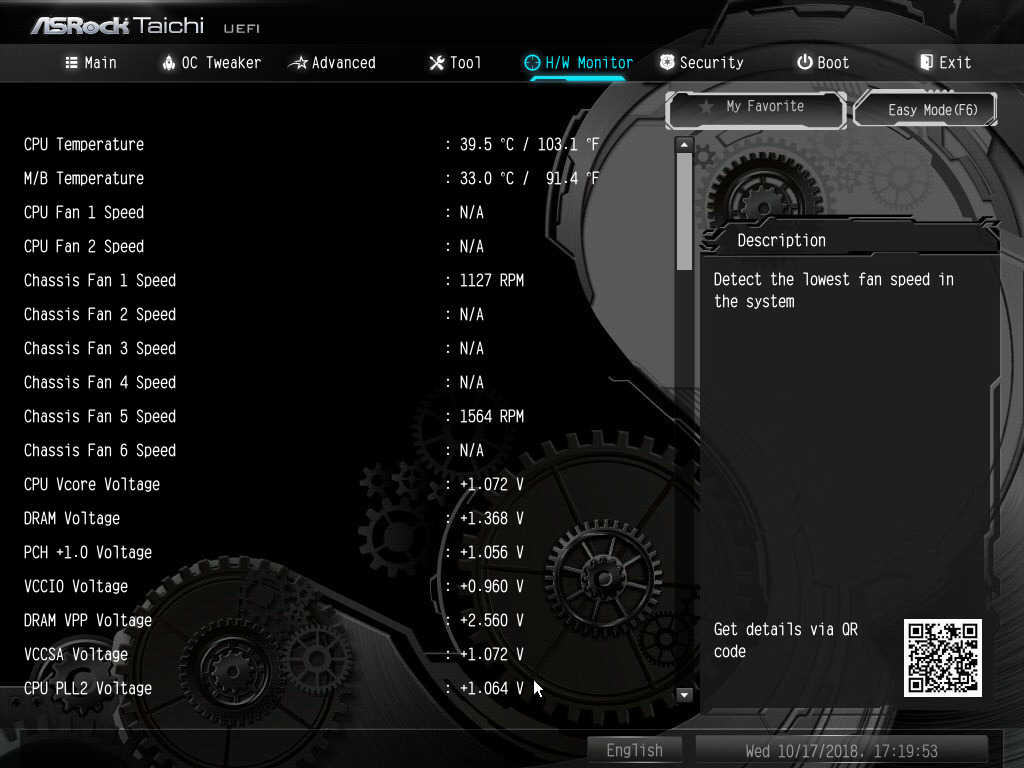 BIOS And Software - The ASRock Z390 Taichi Review: Jack of All
