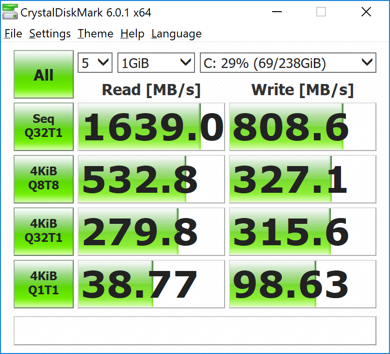 GPU and Storage Performance - The Microsoft Surface Pro 6
