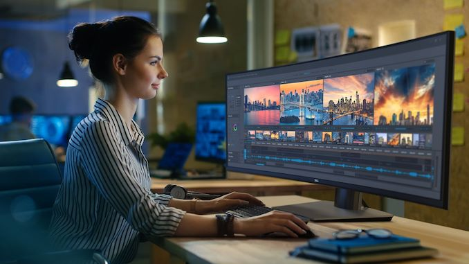 Dell U4919dw Curved Display Unveiled 49 Inches 5120x1440