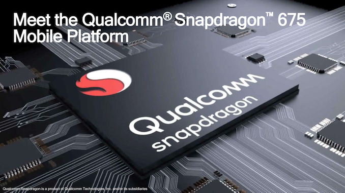 Snapdragon 675: mid range designed for gaming and photography
