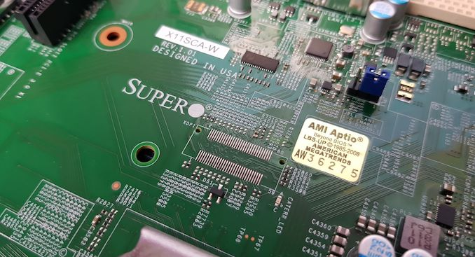 The Supermicro X11SCA-W Motherboard Review: For Entry