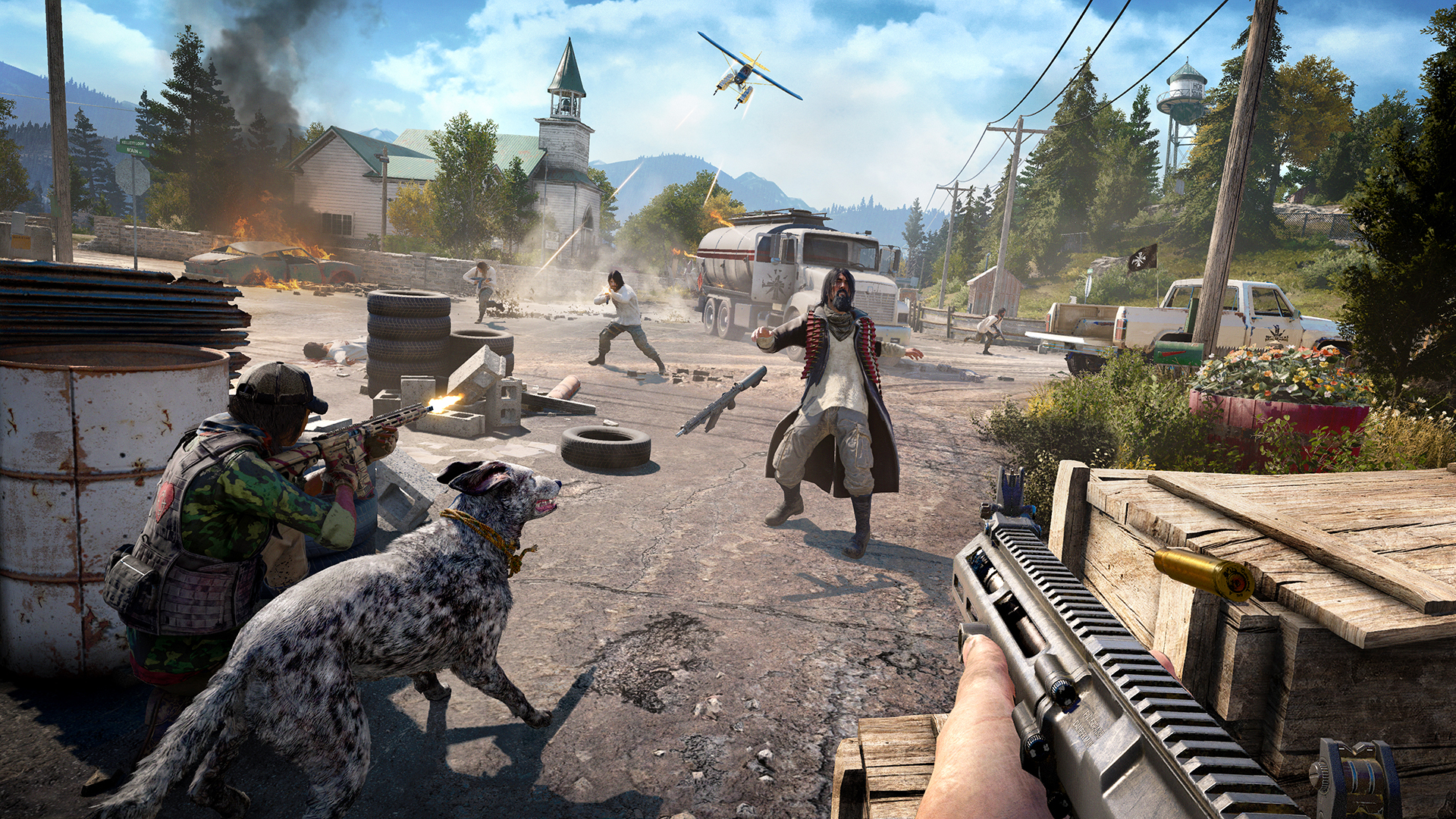 Gaming: Far Cry 5 - The Intel Core i9-9980XE CPU Review