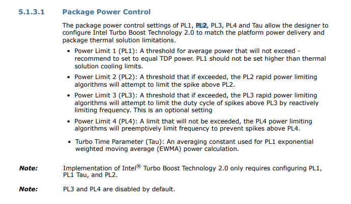 Why Intel Processors Draw More Power Than Expected: TDP and