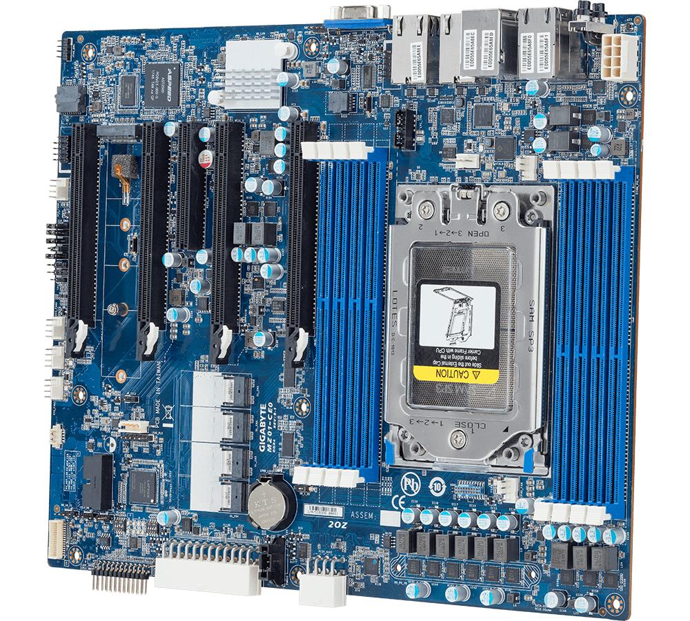 AMD EPYC for ATX Workstations: GIGABYTE MZ01-CE0 & MZ01-CE1