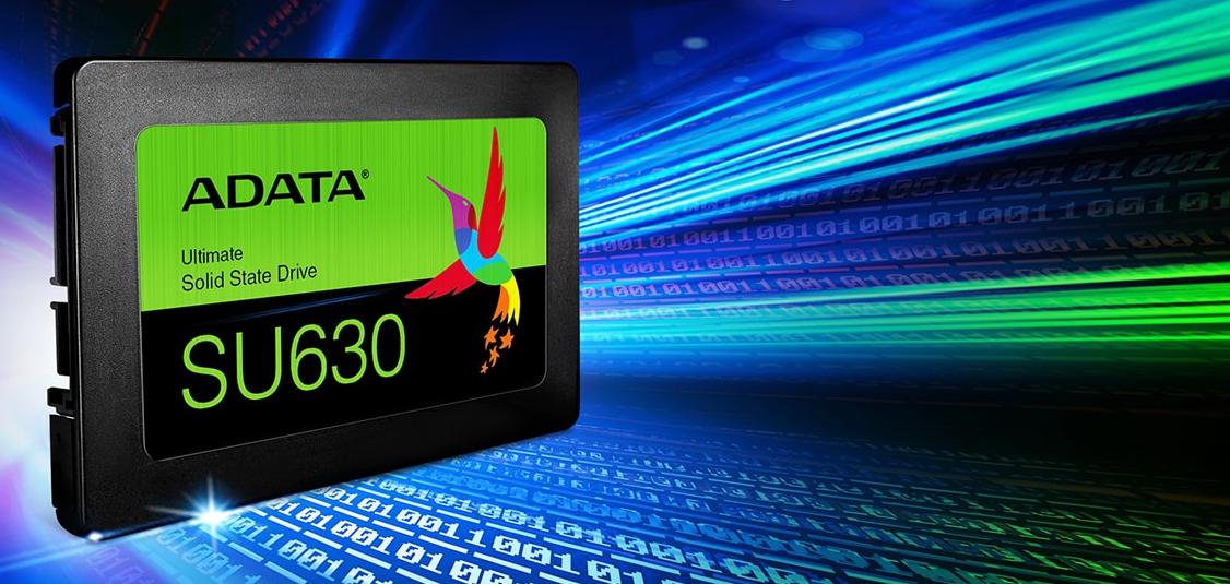ADATA Reveals Ultimate SU630 SSD: 3D QLC for SATA