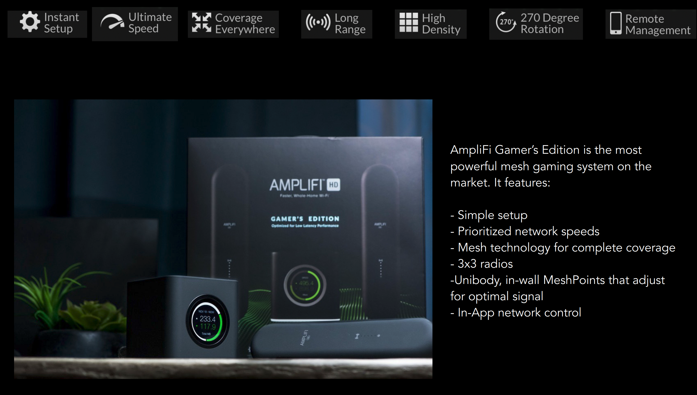 Ubiquiti Extends Amplifi HD Mesh Networking Family with