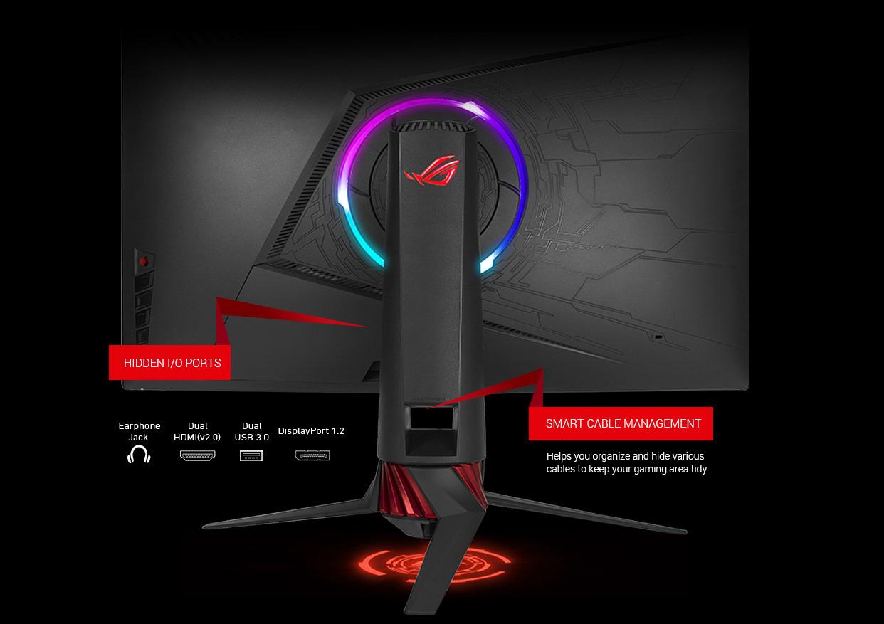 ASUS Lists ROG Strix XG32VQR Curved FreeSync 2 Display with RGB