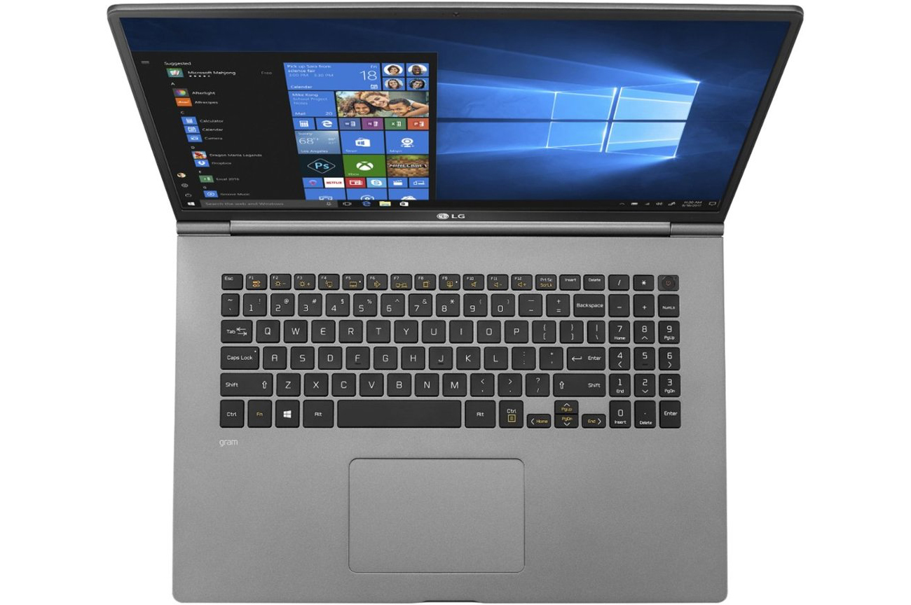 LG Releases Gram 17 Laptop: An Ultra-Thin Notebook with a