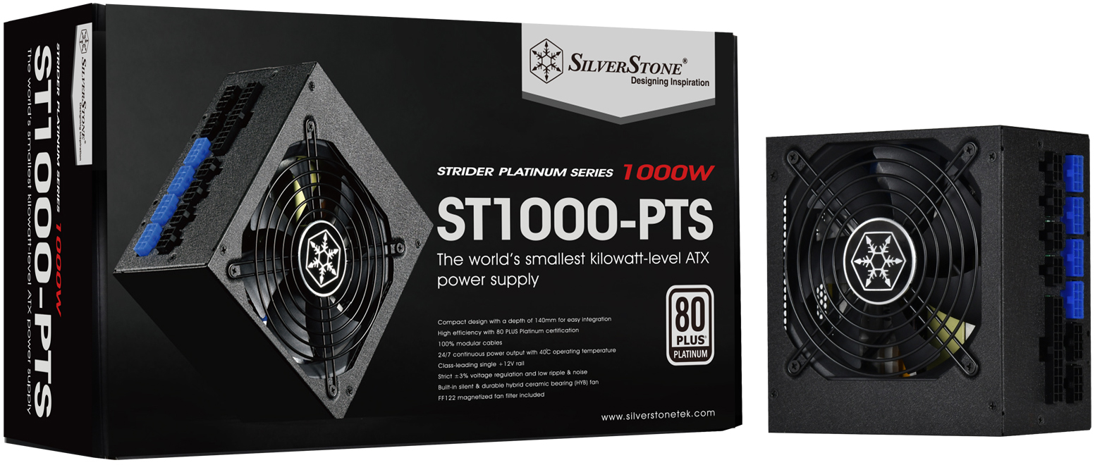 Silverstone Shrinks Depth Of Strider Platinum Pts Psus 12kw At 140mm Short Circuit Protection To Your Power Supply Supplies The Are Outfitted With Over Current Under Voltage Temperature And Technologies