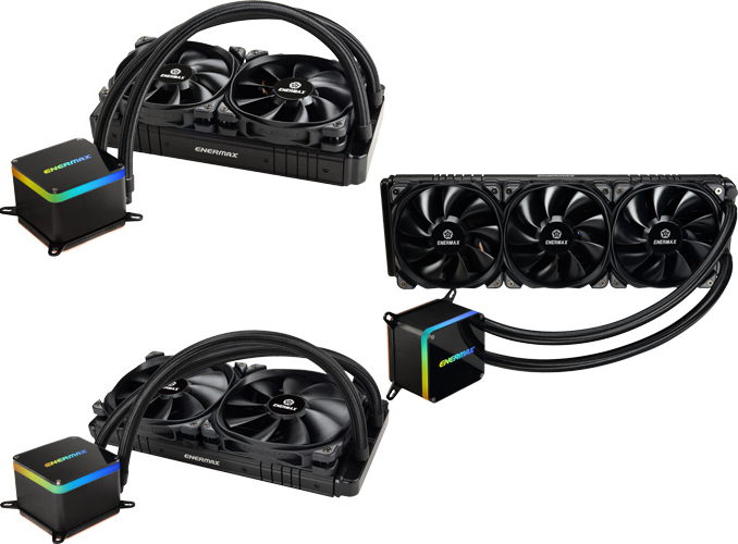 Enermax Unveils 500w Capable Liqtech Ii Lcs For Mainstream Cpus