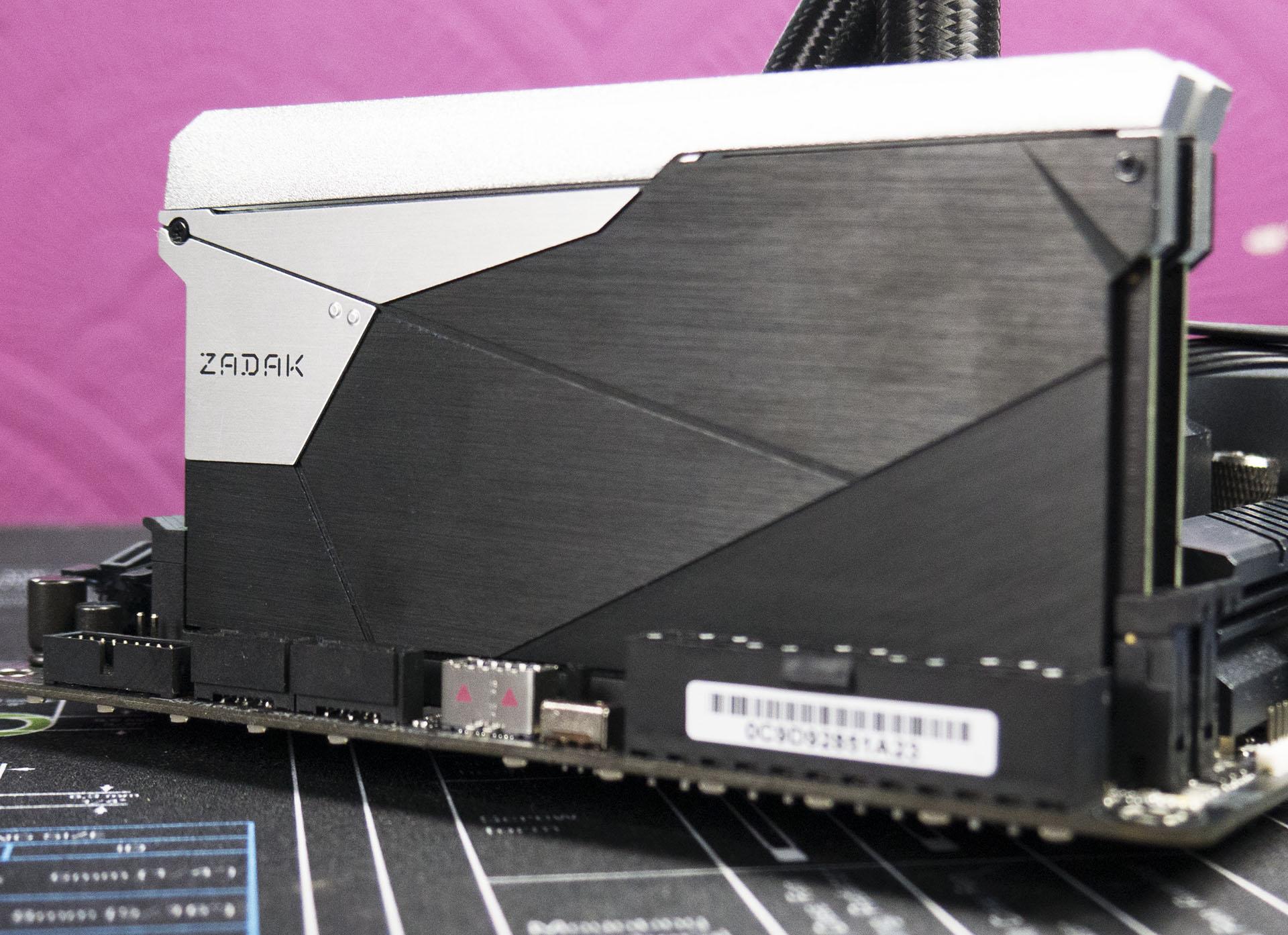 ZADAK Shield RGB DC Overview - Double Height DDR4: 32GB