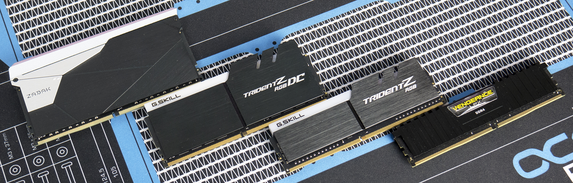 Double Height DDR4: 32GB Modules from G Skill and ZADAK Reviewed