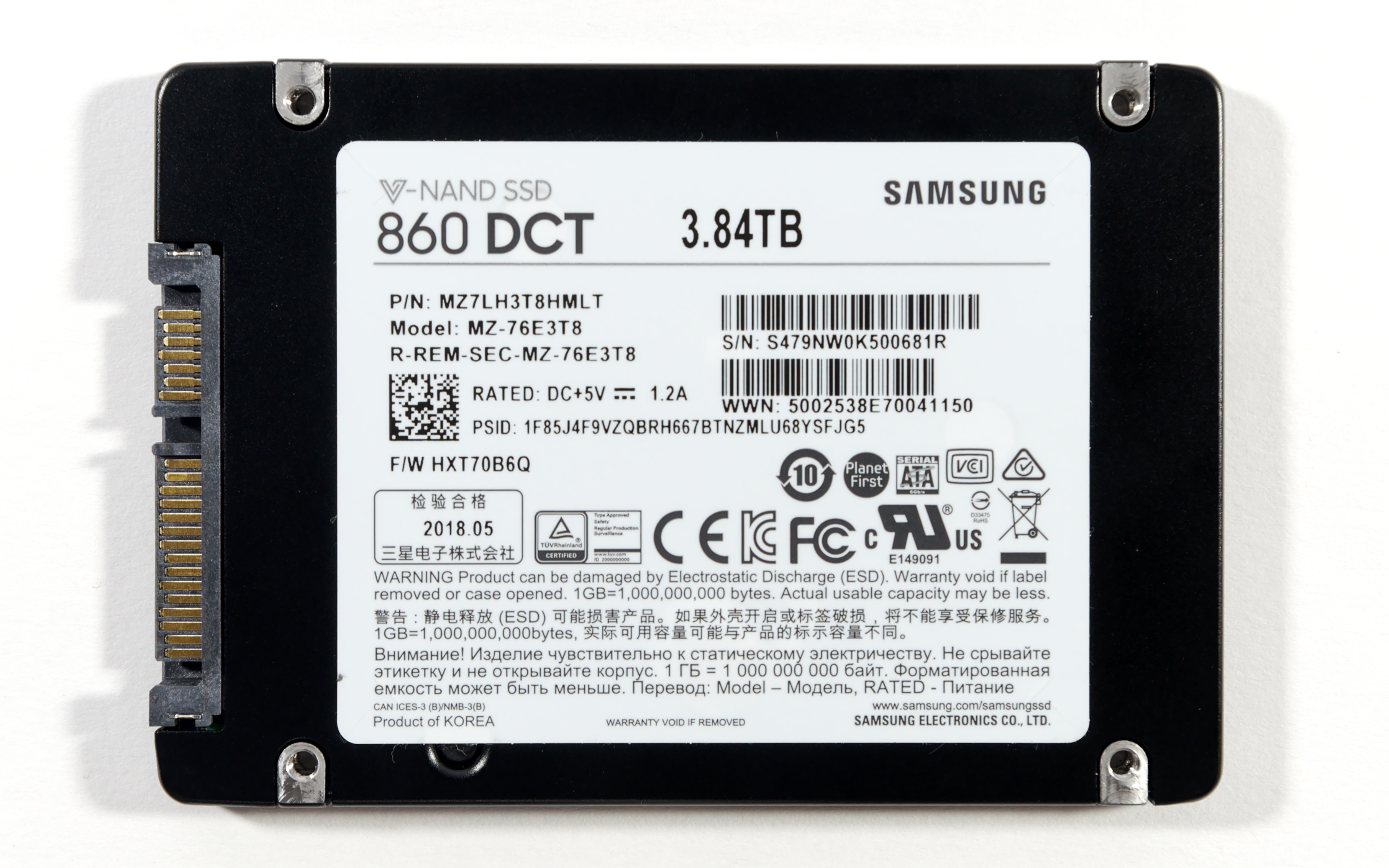 Drives In Detail, Part 1: Samsung 860 DCT, 883 DCT, 983 DCT