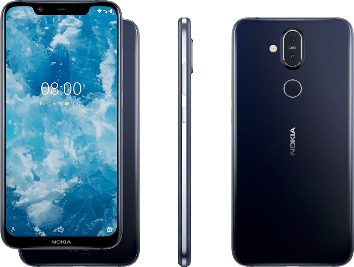 Nokia 8 1 Unveiled Elegant Phone With 6 18 Inch Display 20mp Selfie Cam Zeiss Optics
