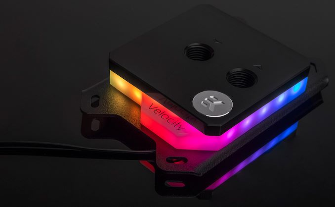 EKWB Reveals Velocity: A Water Block for Custom LCS with RGB