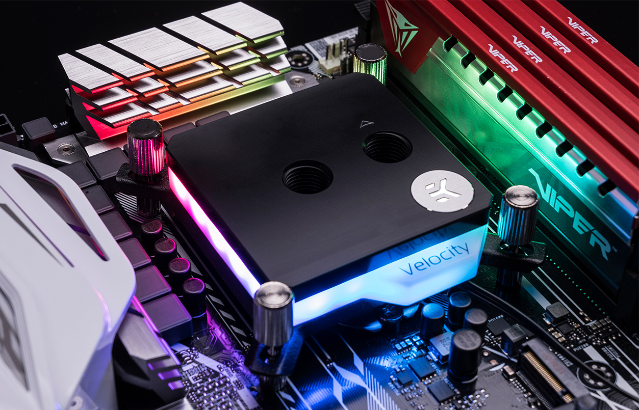 Ekwb Reveals Velocity A Water Block For Custom Lcs With