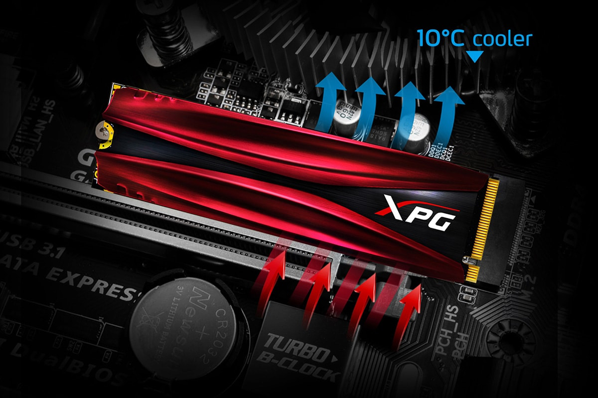 ADATA Announces XPG Gammix S11 Pro: SM2262EN, 3D TLC, Up to