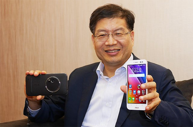 Asus CEO resigns; company to focus on mobile gamers