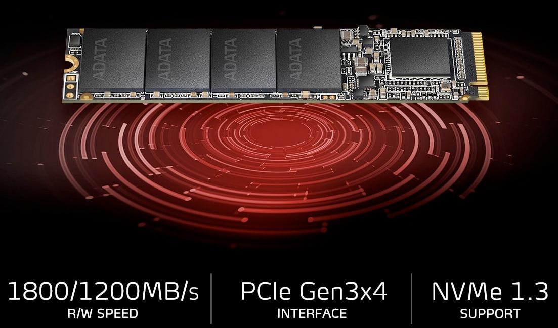 Image result for ADATA XPG SX6000 128GB M.2 2280 NVMe (SX6000LNP-128GT-C)