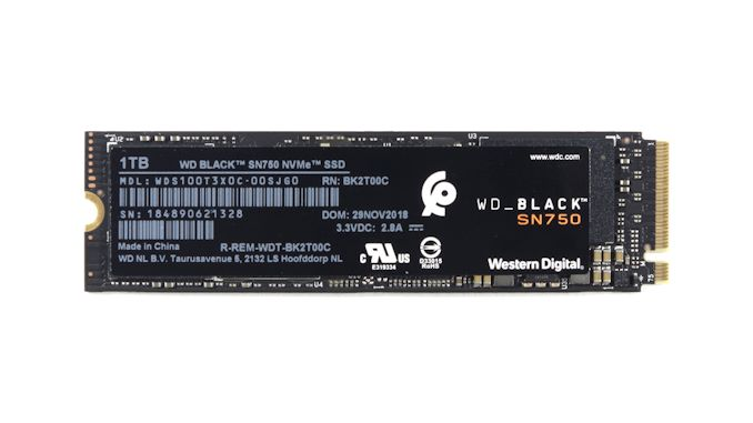 The Western Digital WD Black SN750 SSD Review: Why Fix