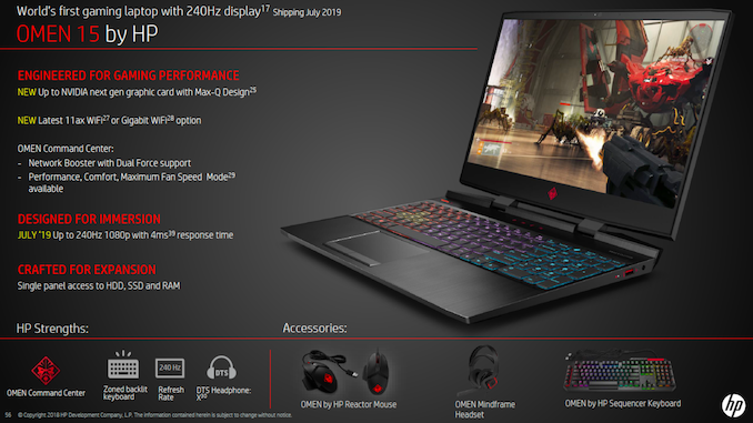 OMEN 15 Laptop gets a 240 Hz monitor, a new NVIDIA GPU, 802 11ax