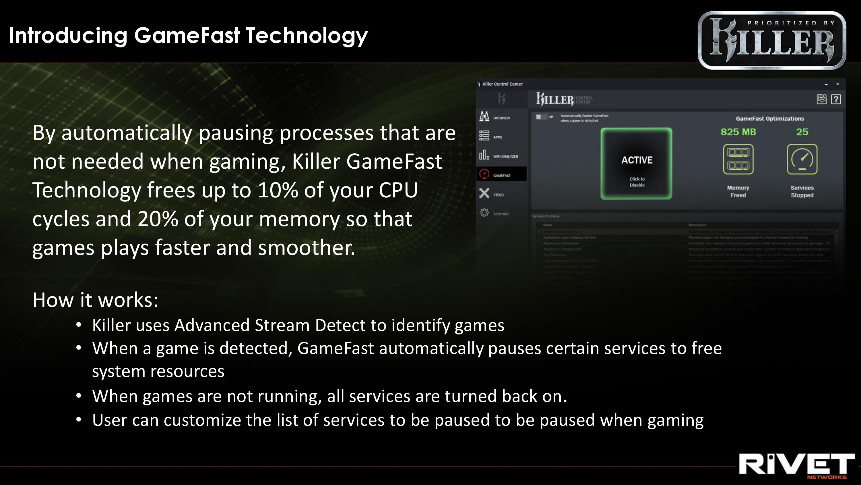 CES 2019: Rivet Networks Killer E3000, a 2 5 GbE Controller