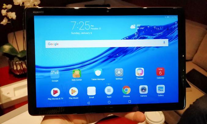 CES 2019: The Huawei Mediapad M5 Lite