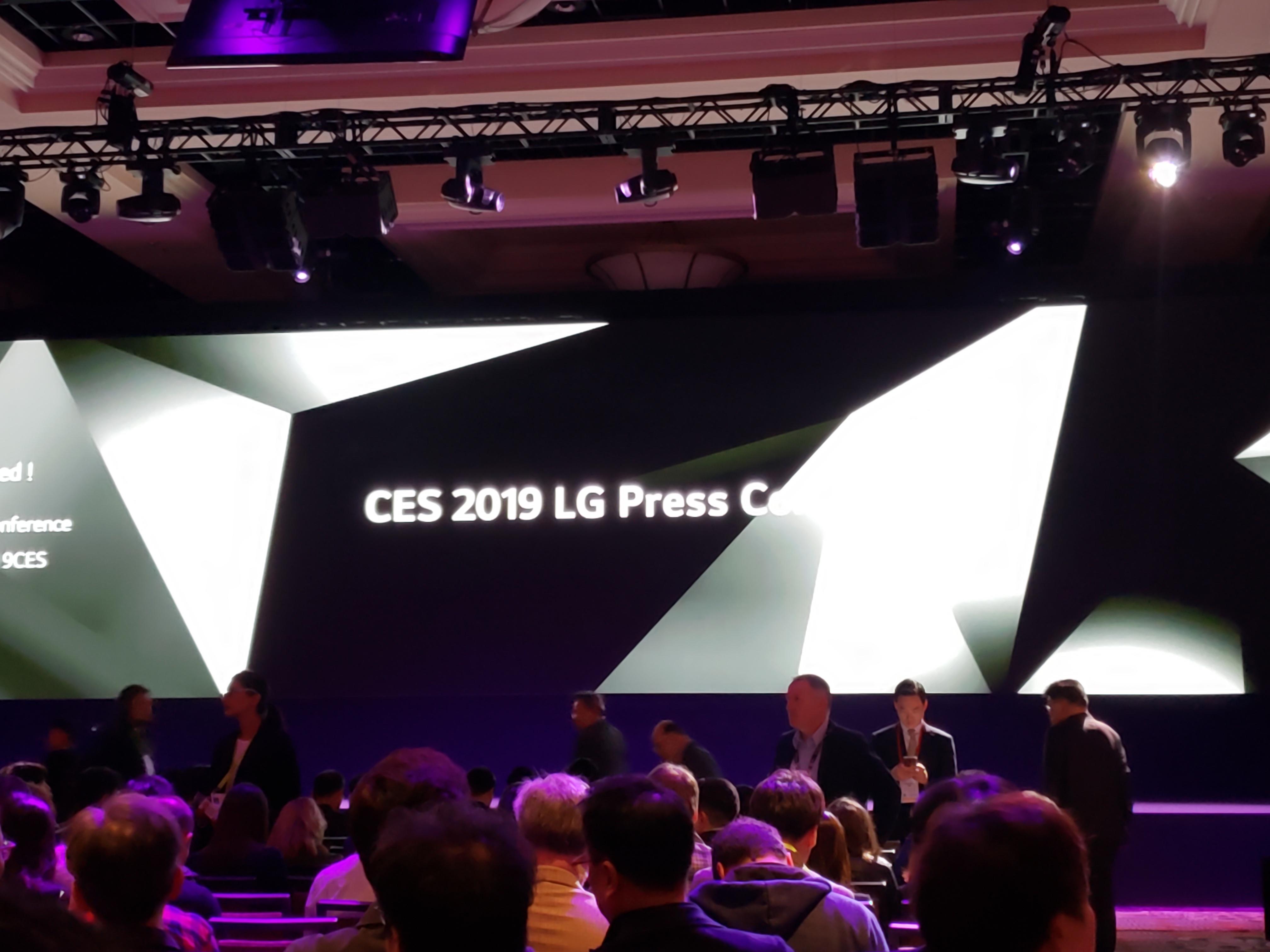 CES 2019: LG Press Event (starts 8am PT, 4pm UTC)