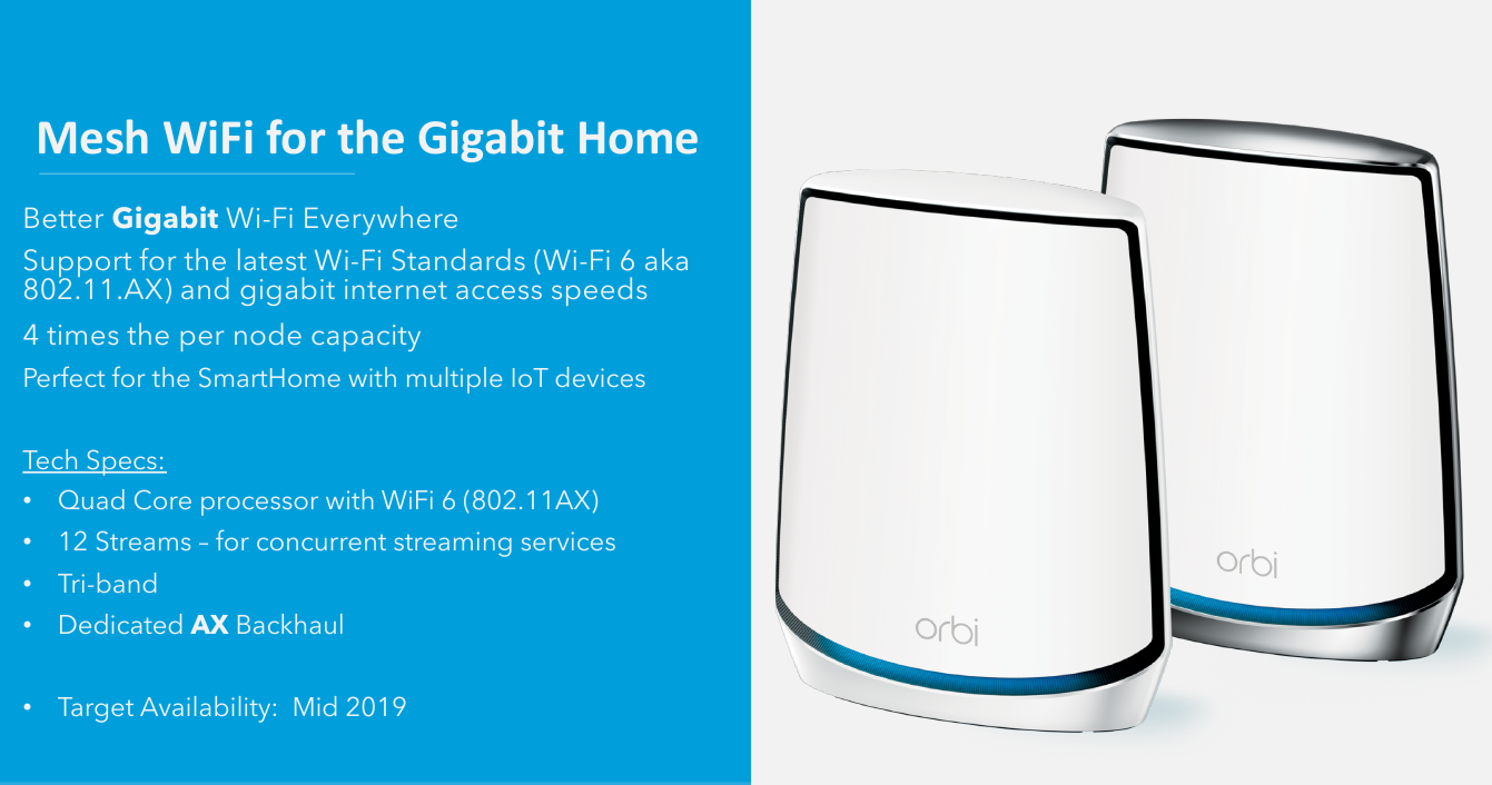 Netgear Orbi Whole-Home Wi-Fi System to Adopt Qualcomm's Wi