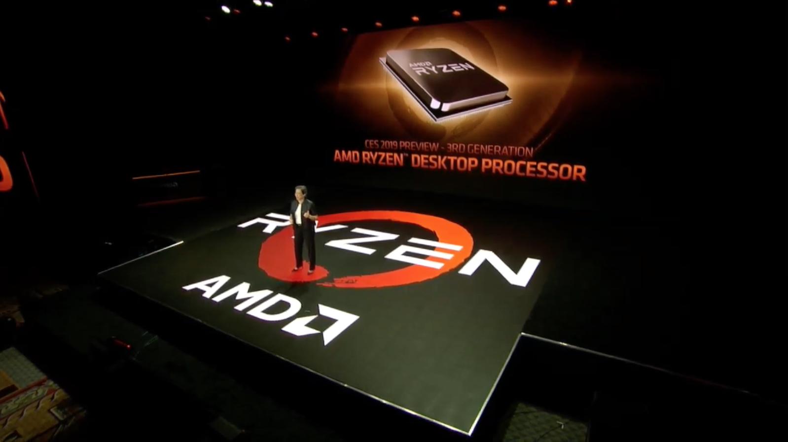 AMD Ryzen 3000 анонсированы на CES 2019; протестирован инженерный образец. Новые AMD Epyc скоро станут доступны