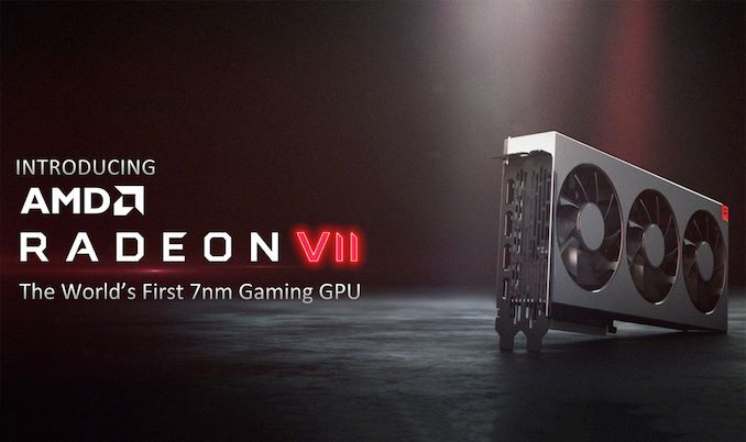 AMD Reveals Radeon VII: High-End 7nm Vega Video Card Arrives