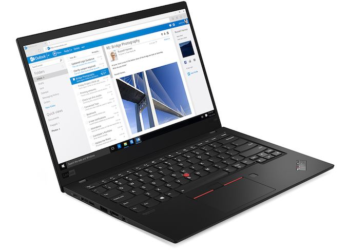 Lenovo at CES 2019: 7th Gen ThinkPad X1 Carbon Gets Thinner